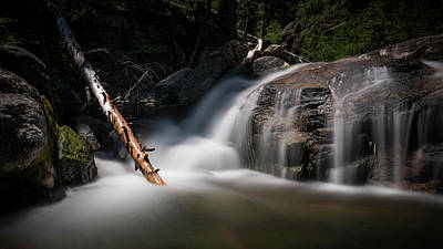 Snow Melt Photograph - Squaw Creek by Sean Foster