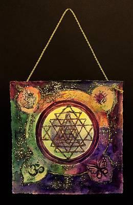Sri Yantra Painting - Sri Yantra Mandala by Sage Boyd