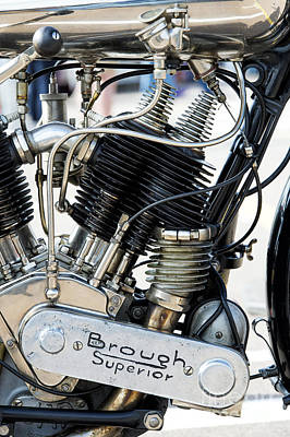 Ss80 Engine Print by Tim Gainey