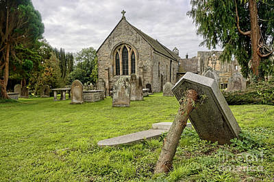Abbey Photograph - St Agathas Church by Stephen Smith