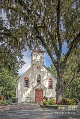 Elkton Photograph - St. Ambrose Catholic Church  by Maria  Struss
