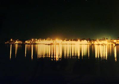 St. Augustine Lights Original by Kenneth Albin