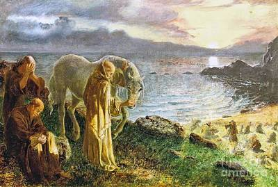 Boyd Painting - St Columba's Farewell To The White Horse  by MotionAge Designs