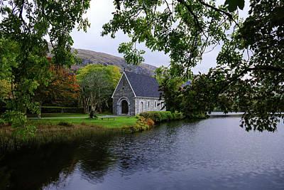 Gougane Barra Church Photograph - St. Finbarre's Church by Bill Jordan