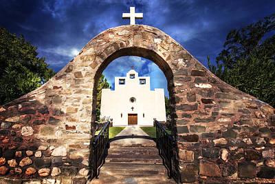 St. Francis De Paula Catholic Church Tularosa New Mexico Photograph - St Francis De Paula 2 by Diana Powell