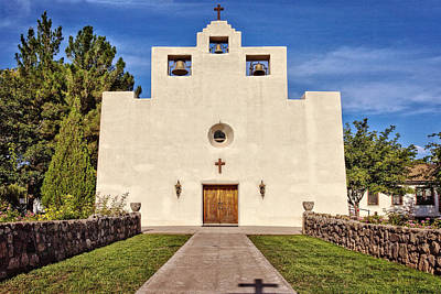 St. Francis De Paula Catholic Church Tularosa New Mexico Photograph - St Francis De Paula by Diana Powell