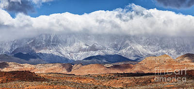 St George Photograph - St. George Utah by David Millenheft