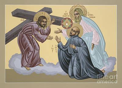 Ignatius Painting - St Ignatius Vision At La Storta 074 by William Hart McNichols