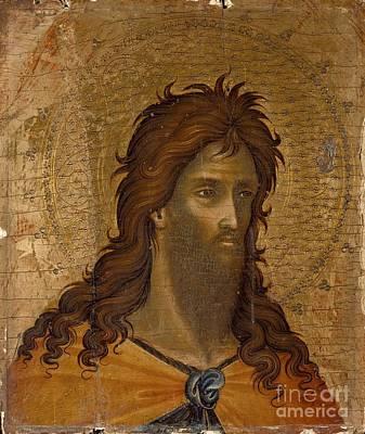 Baptist Painting - St. John The Baptist by Celestial Images