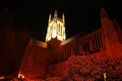 St Johns Cathedral Print by Jeff Swan