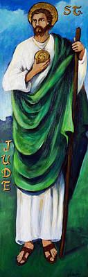 St. Jude Print by Valerie Vescovi