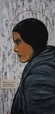 St. Kateri Tekakwitha Print by Ralph LeCompte