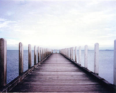 Photograph - St Kilda Jetty by Darren Stein
