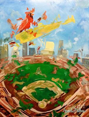 St. Louis Cardinals Original by Amanda Millman