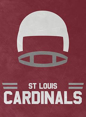 Cardinal Mixed Media - St Louis Cardinals Vintage Art by Joe Hamilton