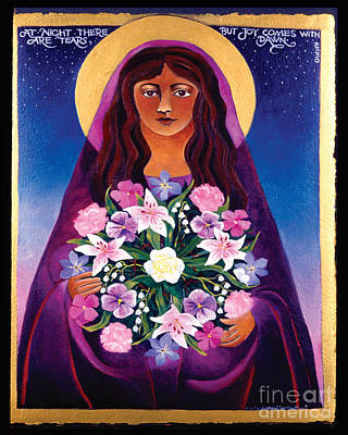 St Mary Magdalene Painting - St. Mary Magdalene - Mmmgd by Br Mickey McGrath OSFS