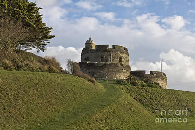 Seaside Photograph - St Mawes Castle  by Terri Waters