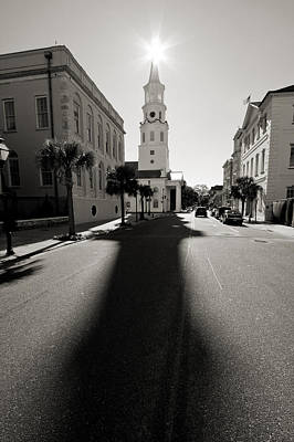 Steele Photograph - St Michaels Church Charleston Sc by Dustin K Ryan
