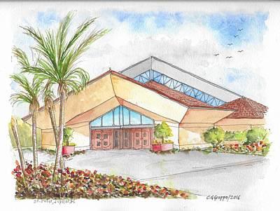 St. Peter's Catholic Church, Jupiter, Florida Original by Carlos G Groppa