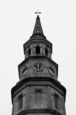 St. Philips Church Steeple Original by Dustin K Ryan