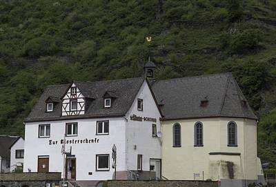 Weathervane Photograph - St Sebastian Church Ehrenthal Germany by Teresa Mucha
