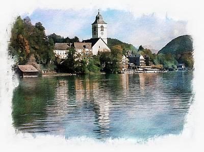 Austria Photograph - St Wolfgang Splender by Joseph Hendrix