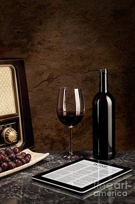 Wine Photograph - Stability Of Wine Beside The Old And New Technology by Wolfgang Steiner