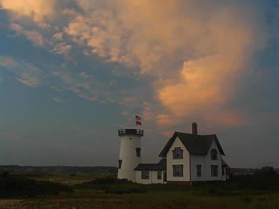 Lighthouses Photograph - Stage Harbor Lighthouse by Juergen Roth