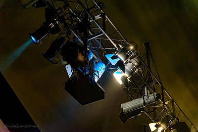 Artists Photograph - Stage Light by Erich Grant