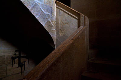 Iglesia Photograph - Staircase In The Church Mayor Of Santa by Panoramic Images