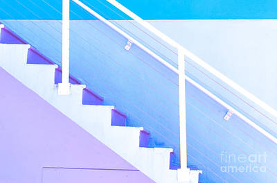 Violet Photograph - Stairway by Juli Scalzi
