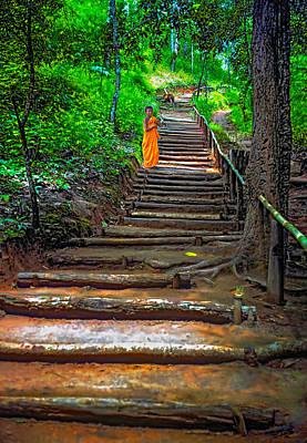 Stairway To Heaven Print by Steve Harrington