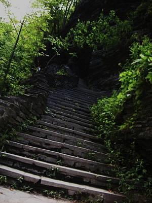 Stairway To Watkins 2 Print by InTheSane DotCom