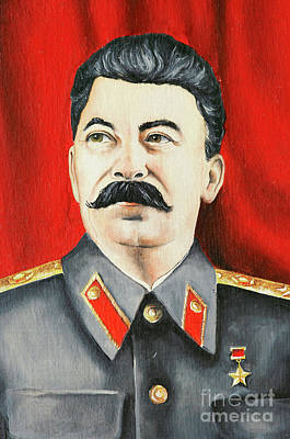 Stalin Print by Michal Boubin