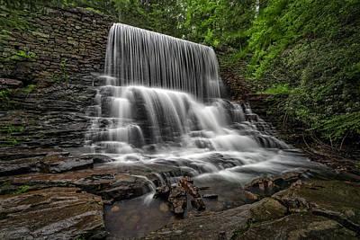 Pa State Parks Photograph - Stametz Dam by Rick Berk