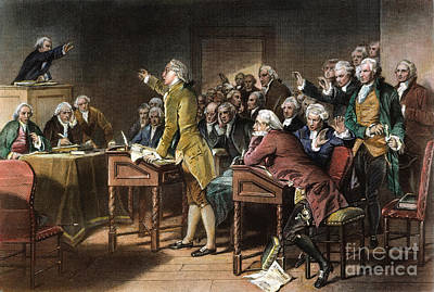 Stamp Act: Patrick Henry Print by Granger