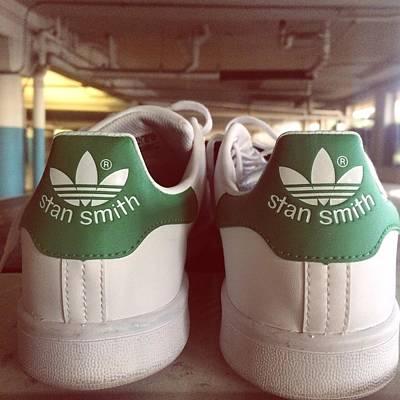 Adidas Photograph - Stan Smith by Cortney Herron