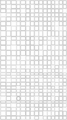 Mosaic Tesserae Tiles Digital Art - Stand Out I V by Stephanie Brock