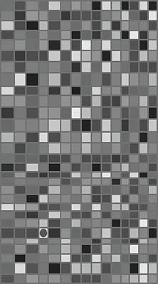 Mosaic Tesserae Tiles Digital Art - Stand Out IIi V by Stephanie Brock