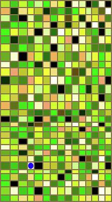 Mosaic Tesserae Tiles Digital Art - Stand Out Xi V by Stephanie Brock