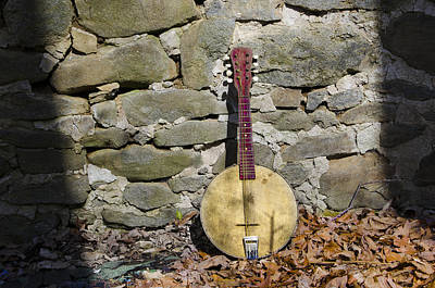 Mandolin Photograph - Standing In The Shaddows by Bill Cannon