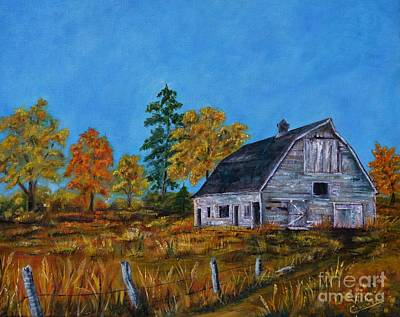 Standing In The Weather Print by Vicki Caucutt