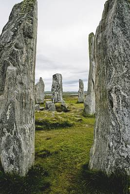 Megalith Photograph - Standing Stones by Axiom Photographic