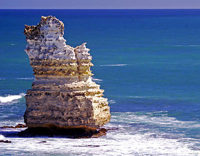 Great Ocean Road Photograph - Standing Tall by Holly Kempe