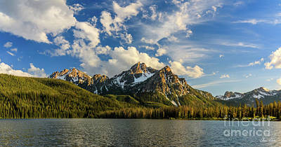 Photograph - Stanley Lake Afternoon by C Steele