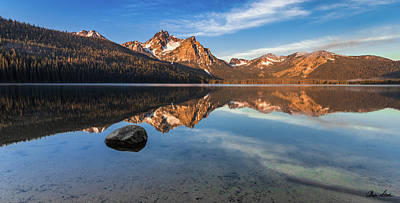 Photograph - Stanley Lake Morning by C Steele