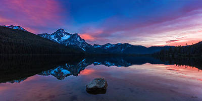 Photograph - Stanley Lake Tranquility by C Steele