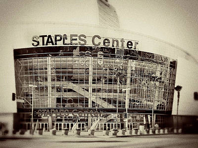 Staples Center Print by Ariane Moshayedi