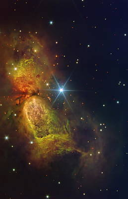 Star Creation Print by Paul Van Scott