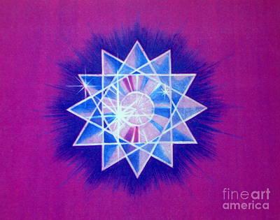 Star Crystal Print by Shasta Eone